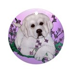 Great Pyranees Pup Ornament (Round)