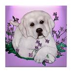 Great Pyranees Pup Tile Coaster