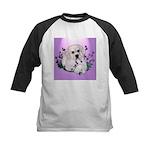 Great Pyranees Pup Kids Baseball Jersey