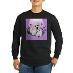 Great Pyranees Pup Long Sleeve Dark T-Shirt