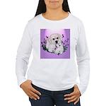 Great Pyranees Pup Women's Long Sleeve T-Shirt