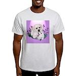 Great Pyranees Pup Ash Grey T-Shirt