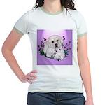Great Pyranees Pup Jr. Ringer T-Shirt