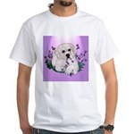Great Pyranees Pup White T-Shirt