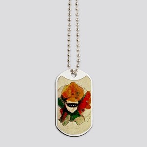Odilon Redon painting: The Masked Anemone Dog Tags