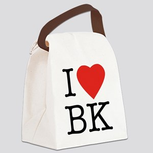 I-loveBK Canvas Lunch Bag