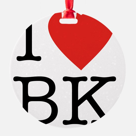 I-loveBK Ornament
