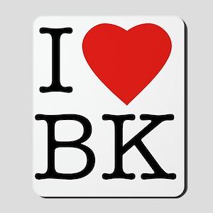 I-loveBK Mousepad