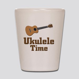Ukulele Time Shot Glass