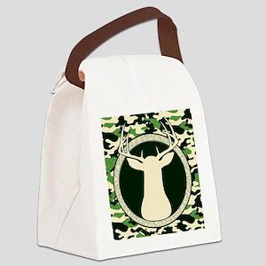 CAMO BUCK BLANKET Canvas Lunch Bag