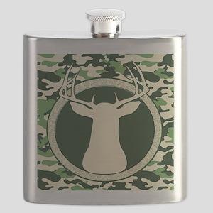 CAMO BUCK BLANKET Flask