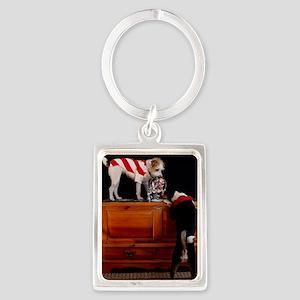 card 2 Portrait Keychain