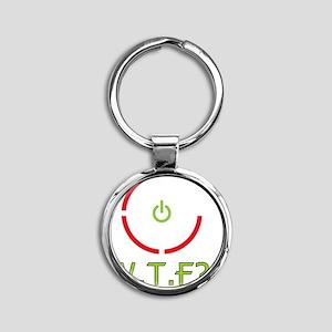 rrod Round Keychain