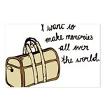 I want to make memories Postcards (Package of 8)