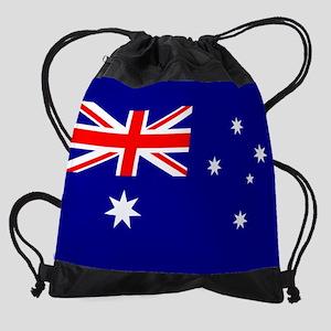 Flag of Australia Drawstring Bag