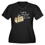 I want to make memories Plus Size T-Shirt