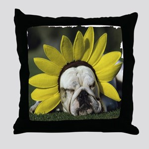 BDF shirt Throw Pillow