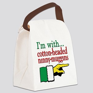 ImwithCottonHeadedNinny Canvas Lunch Bag