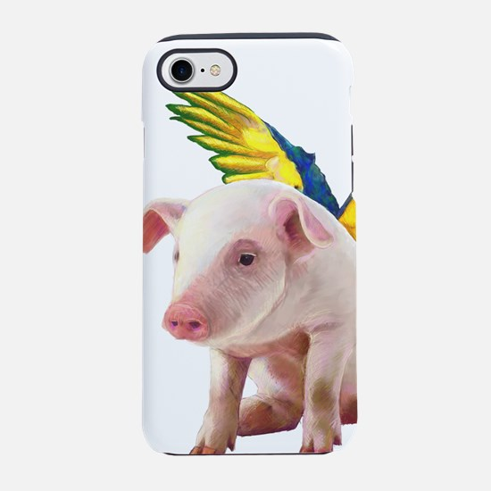 Pigs Fly iPhone 7 Tough Case
