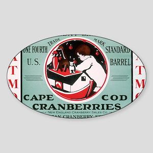 CranCalDec Sticker (Oval)