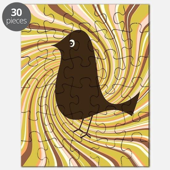 retro bird Puzzle
