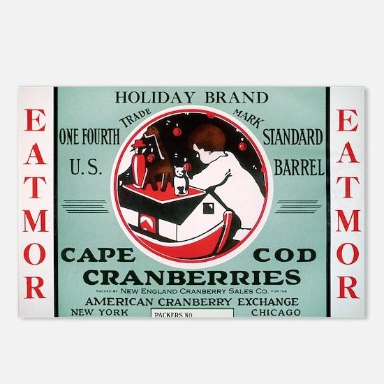 CranCalDec Postcards (Package of 8)