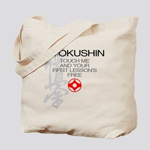 Kyokushin touch me, your first lessons fr Tote Bag