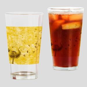 dandylion Drinking Glass