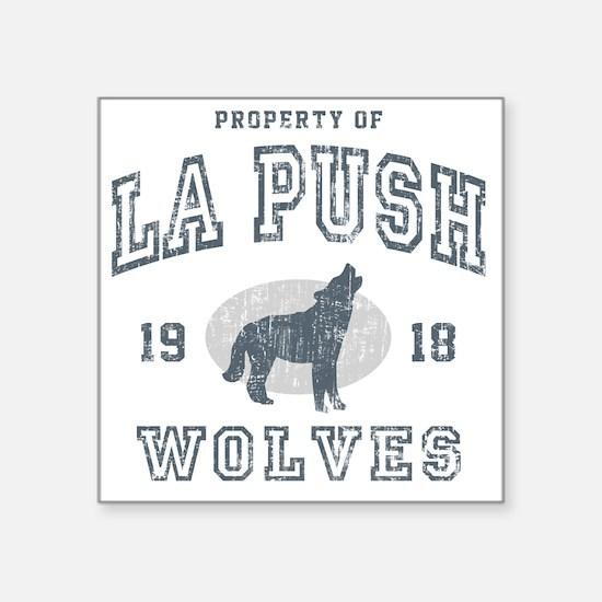 """La Push Wolves Square Sticker 3"""" x 3"""""""