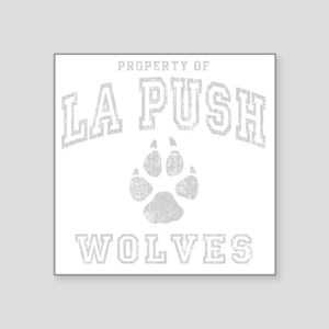 "La Push -dk Square Sticker 3"" x 3"""