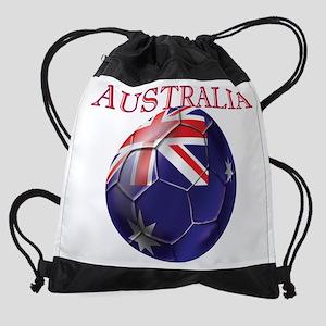 Australia Football Drawstring Bag