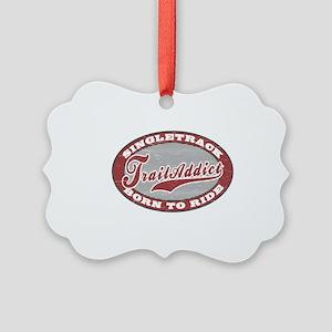 TrailAddict_BLGR Picture Ornament