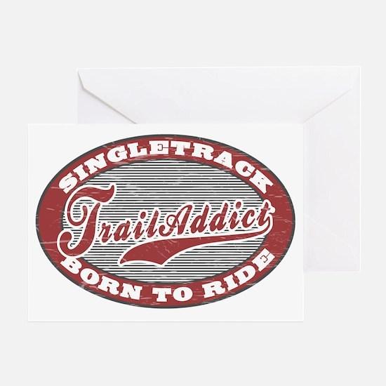 TrailAddict_BLGR Greeting Card