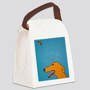 AnnieButterfly Canvas Lunch Bag