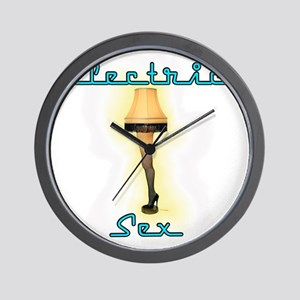 leglampblue Wall Clock