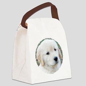 Golden Retreiver Puppy 3G iPhone  Canvas Lunch Bag