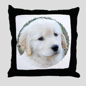 Golden Retreiver Puppy 3G iPhone Hard Throw Pillow