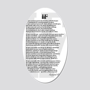 kipling 35x21 Oval Wall Decal