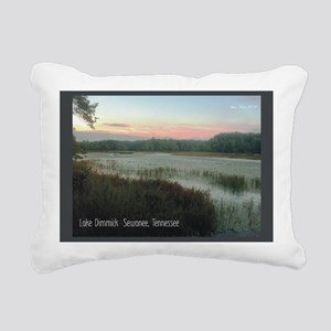 2010 pics for 2011 Lake  Rectangular Canvas Pillow