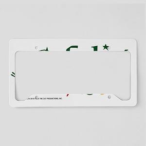MULTI COLOR FELIX copy License Plate Holder
