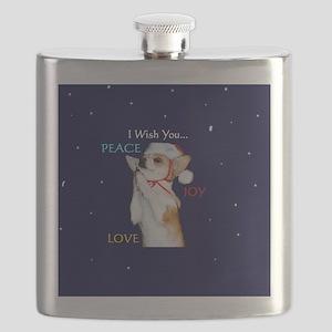 Dott Love Joy  Peace Flask