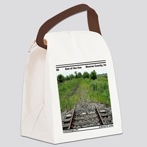 RR-End of the Line mousepad Canvas Lunch Bag
