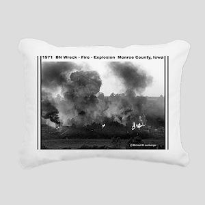 RR-BN Explosion  mousepa Rectangular Canvas Pillow