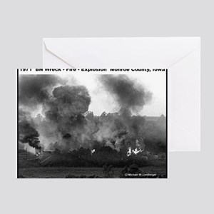 RR-BN Explosion  mousepad Greeting Card