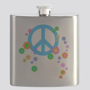 peace08-blk Flask