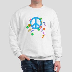 peace08-blk Sweatshirt
