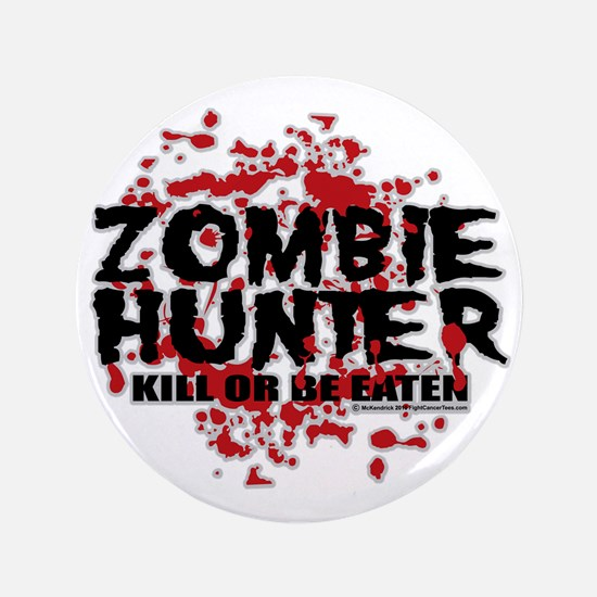 "Zombie-Hunter 3.5"" Button"
