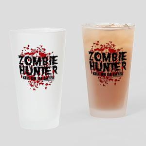 Zombie-Hunter Drinking Glass