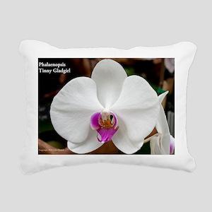 Phal. Tinny Gladgirl Rectangular Canvas Pillow