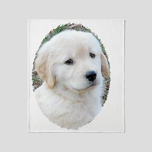 Golden Retriever Puppy 3G iPhone Har Throw Blanket